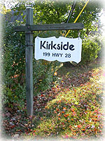 Kirkside Sign